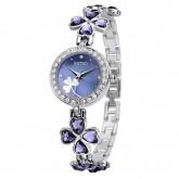 Kimio นาฬิกาข้อมือผู้หญิง สายสแตนเลส รุ่น K456L – Silver Blue