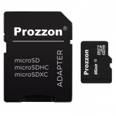 Prozoon (Made in Taiwan) Micro SD 16 GB Memory Card Flash Class10 Fast Speed Original with Adapter