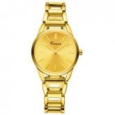 Kimio Women Watch นาฬิกาข้อมือผู้หญิง สายสแตนเลส รุ่น KW615M (สีทอง)
