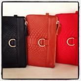 กระเป๋าเงินยาวผู้หญิงหนังแท้ใส่มือถือและบัตร