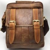 กระเป๋าสะพายหนังแท้หูจับเข็มขัดคู่ipad2-3