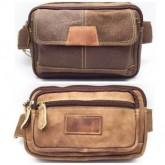 กระเป๋าหนังแท้สะพายหน้าอกหรือคาดเอว