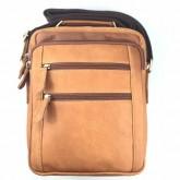 กระเป๋าสะพายหนังแท้หูจับ3ซิปหน้าipad2-3