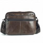 กระเป๋าสะพายหนังแท้ซิปซ่อนนอนใบกระทัดรัด