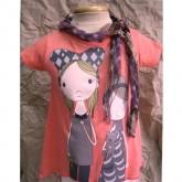 เสื้อยืดแขนตุ๊กตา ผ้า cotton เนื้อดี เด็กใส่น่ารักมาก
