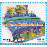 ชุดเครื่องนอน ผ้าปูที่นอนโตโต้ลายการ์ตูน โดราเอมอน DM16