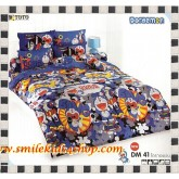 ชุดเครื่องนอน ผ้าปูที่นอนโตโต้ลายการ์ตูน โดราเอมอน DM41