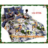 ชุดเครื่องนอน ผ้าปูที่นอนโตโต้ลายการ์ตูน เบ็นเท็น Ben10-BT06