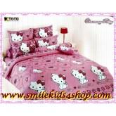 ผ้าปูที่นอน ชุดเครื่องนอน โตโต้ ลายการ์ตูน Charmmy Kitty CK04