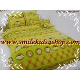 ผ้าปูที่นอน ชุดเครื่องนอน โตโต้ ลายการ์ตูน Pompompurin PM02