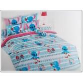 ชุดเครื่องนอน ผ้าปูที่นอนโตโต้ ลายการ์ตูนลิขสิทธิ์ สติช Stitch สินค้าคุณภาพลายการ์ตูนจาก TOTO