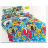 ชุดเครื่องนอน ผ้าปูที่นอนโตโต้ ลายการ์ตูนลิขสิทธิ์ Ben 10 สินค้าคุณภาพลายการ์ตูนจาก TOTO