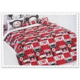 ชุดเครื่องนอน ผ้าปูที่นอนโตโต้ ลายการ์ตูนลิขสิทธิ์ Pucca สินค้าคุณภาพลายการ์ตูนจาก TOTO
