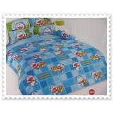 ชุดเครื่องนอน ผ้าปูที่นอนโตโต้ ลายการ์ตูนลิขสิทธิ์ Doraemon สินค้าคุณภาพลายการ์ตูนจาก TOTO