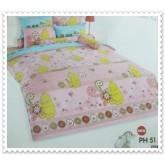 ชุดเครื่องนอน ผ้าปูที่นอนโตโต้ ลายการ์ตูนลิขสิทธิ์ Classic Pooh สินค้าคุณภาพลายการ์ตูนจาก TOTO