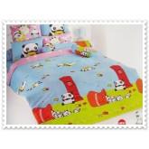 ชุดเครื่องนอน ผ้าปูที่นอนโตโต้ ลายการ์ตูนลิขสิทธิ์ Terepanda สินค้าคุณภาพลายการ์ตูนจาก TOTO