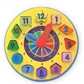 นาฬิกาของเล่น - Shape Sorting Clock ยี่ห้อ Melissa and Doug