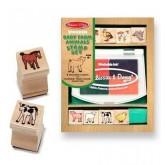 ชุดแสต้มป์ - Stamp Set ยี่ห้อ Melissa and Doug