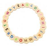 จิ๊กซอว์ทายอักษร ABC - Alphabet Puzzle ยี่ห้อ Voila