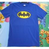 เสื้อยืดคอกลม ลายแบทแมน batman ผ้ายืด เนื้อผ้านิ่มใส่สบายสีไม่ตก ในราคาเพียง 170 บาทเท่านั้น