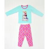 ชุดนอนเด็ก : ชุดนอนผ้าคอตตอนเนื้อดีผสมสแปนเด็กซ์ ลาย Frozen ผ้านิ่ม PJ-5710427