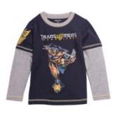 เสื้อเด็ก : เสื้อยืดคอกลมลาย Transformers ทรานส์ฟอร์เมอร์ เด็กๆชอบมากใส่สบาย