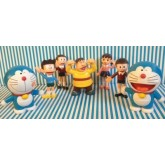 Doraemon Model โมเดล โดเรม่อน ขนาดสูง 4 นิ้ว เซ็ตนึงมี มี 7 ตัว