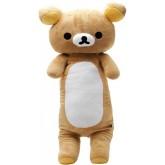 Rilakkuma ตุ๊กตาหมอนข้าง - สีน้ำตาล ขนาด 76 ซ.ม. ตุ๊กตาหมอนข้างรูปหมีริลัคคุมะ ดีไซน์น่ารัก ผลิตจากผ