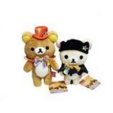 สินค้าลิขสิทธิ์ RilakkumaSan X Rilakkuma Korilakkuma 7th Happy Halloween คู่ตุ๊กตาหมีชุดวันฮาโลวีนปี
