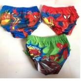 ลิขสิทธิ์แท้ กางเกงใน ผ้ามัน สไปเดอร์แมน spiderman 1 แพ็คมี 3 ตัว ใส่ว่ายน้ำได้ค่ะ