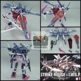 Strike Rouge + IWSP HG 1/144 [Bandai]   ของเล่นเด็กผู้ชาย กันดั้ม Gundam กันพลา ยอดอิต bandai