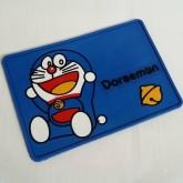 แผ่นยาง กันลื่น โดราเอม่อน Doraemon ขนาด 8x5 นิ้ว