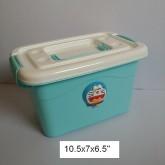 Doraemon โดเรม่อน กล่องใส่ของ พลาสติก เอนกประสงค์ ขนาด 10.5x7x6.5 cm
