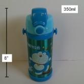 กระติกเก็บร้อน เย็น ลาย โดราเอม่อน Doraemon มีหลอดในตัว สูง 8 นิ้ว หลอดเป็นหลอดนิ่มค่ะ เส้นผ่าศูนย์ก