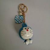 พวงกุญแจ ตัวโดเรม่อนยืดหดได้คะ ลาย โดราเอม่อน Doraemon ขนาดตัวโดเรม่อน สูง 2 นิ้ว
