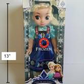 ตุ๊กตา เจ้าหญิงหิมะ Frozen Elsa เอลซ่า ขนาด สูงประมาณ 13 นิ้ว