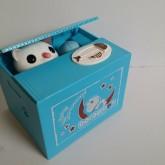 กระปุก แมวขโมยเหรียญ น่ารัก มีเสียง ลาย โดราเอม่อน Doraemon