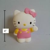 อุปกรณ์ แต่งรถ คิตตี้ (Kitty) ตัวตุ๊กตาติดเสาอากาศรถ หรือติดกระจกรถ ก็ได้ (ดึงตัวจุ๊บติดกระจกออก แล้