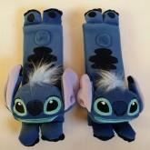 อุปกรณ์ แต่งรถ คาดซีทเบลท์ (SeatBelt)Stitch สติช ในรถ 1 setมี 2 อัน (ไว้หุ้มสายกระเป๋าเป้เด็ก ก็ได้ค