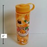 กระติกน้ำกุเดทามะ Gudetama ไข่แดงขี้เกียจ แบบเทดื่ม ขนาดสูง 9 นิ้ว