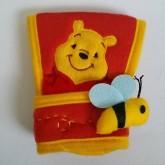 อุปกรณ์แต่งรถ หุ้มเกียร์ออโต้ พูห์ Pooh