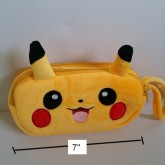 ซองดินสอซิป 2 ช่อง ลาย ปีกาจู โปเกม่อน Pokemon ขนาด 7x4x1.5 นิ้ว