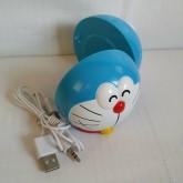 ลำโพงพกพา ลาย โดเรม่อน Doraemon ขนาดสูง 7 ซม.