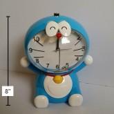 นาฬิกาปลุก พร้อม กระปุกในตัว ลาย โดราเอม่อน Doraemon ขนาดสูง 8นิ้ว