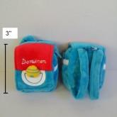 กระเป๋าเหรียญ หรือจะใส่หูฟังก็ได้คะ มีขอเกี่ยว ด้านหลังมีสายเป้ สอดกับเข็มขัดได้คะ ลาย โดราเอม่อน Do