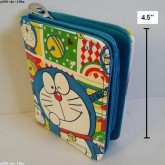 กระเป๋าสตางค์หนัง ลาย โดราเอม่อน Doraemon ขนาด 3.5x4.5 นิ้ว
