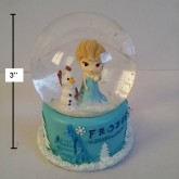 สโนบอล มีไฟ ลาย เจ้าหญิงหิมะ Frozen ขนาดสูง 3 นิ้ว