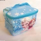 กระเป๋าสะพาย เก็บร้อนเย็น ลาย เจ้าหญิงหิมะ Frozen ด้านในเป็น ฟรอย ค่ะ ขนาด 8.5x5x6 นิ้ว
