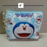 กระเป๋าเหรียญ ลาย โดราเอม่อน Doraemon ขนาด 4x3.5 นิ้ว