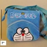 กระเป๋าสะพาย ลาย โดเรม่อน Doraemon ขนาด 6.5x7 นิ้ว สายสะพายถอดได้คะ
